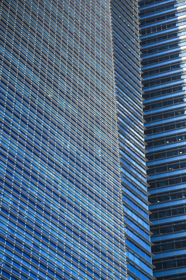 玻璃大厦 库存照片