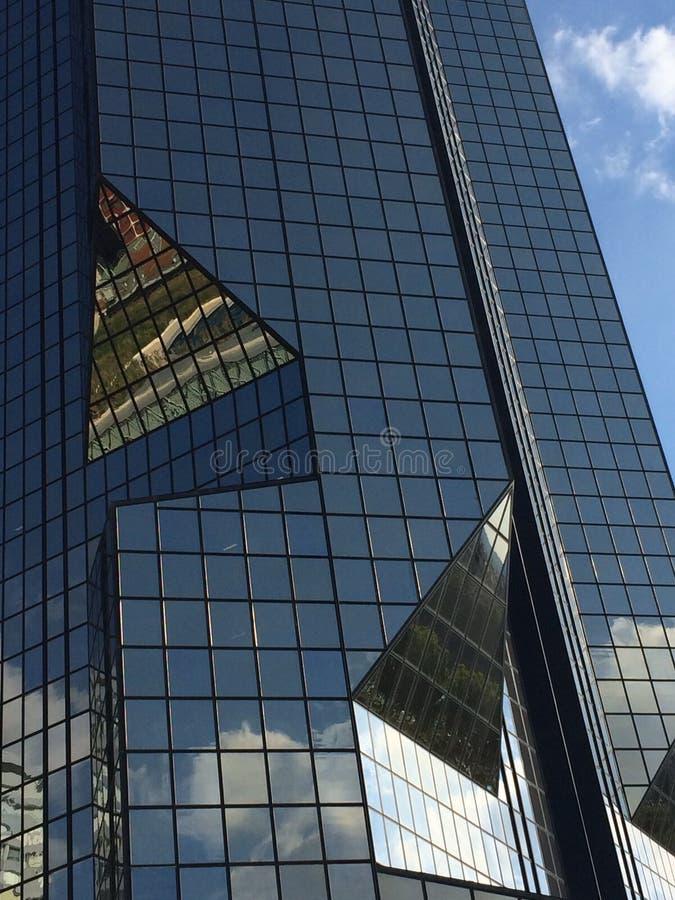 玻璃大厦 免版税库存图片