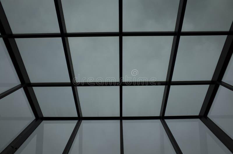 玻璃天花板 免版税库存照片
