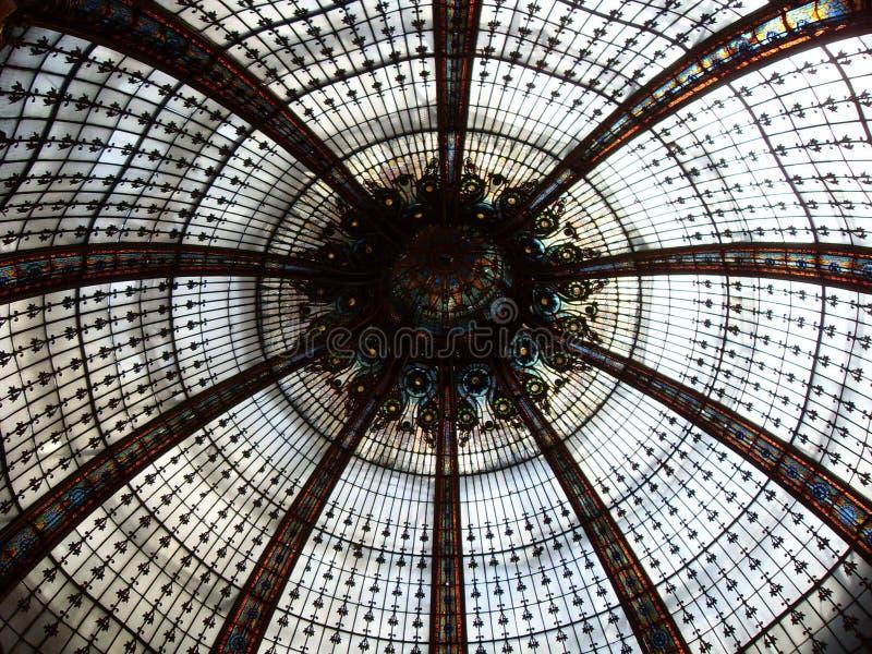玻璃天花板 库存照片