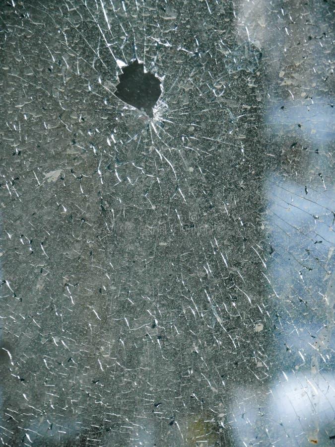 玻璃打碎了 免版税库存图片