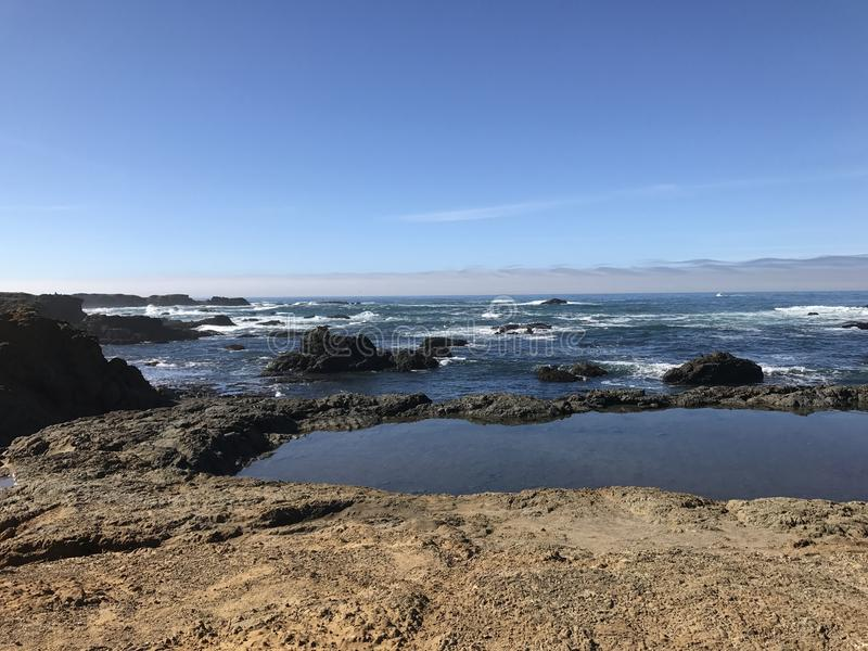 玻璃海滩 库存图片