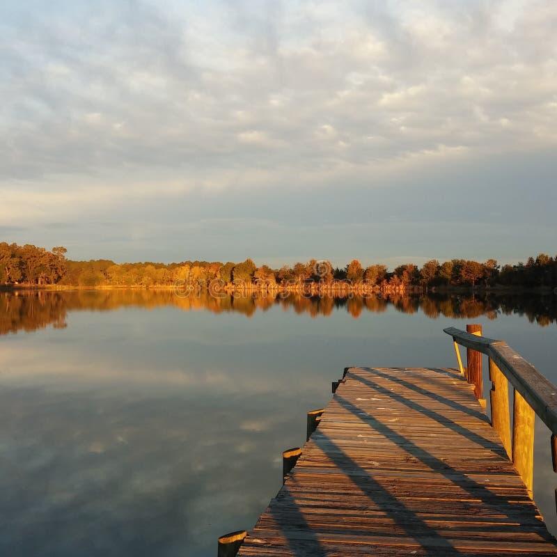 玻璃湖 库存图片