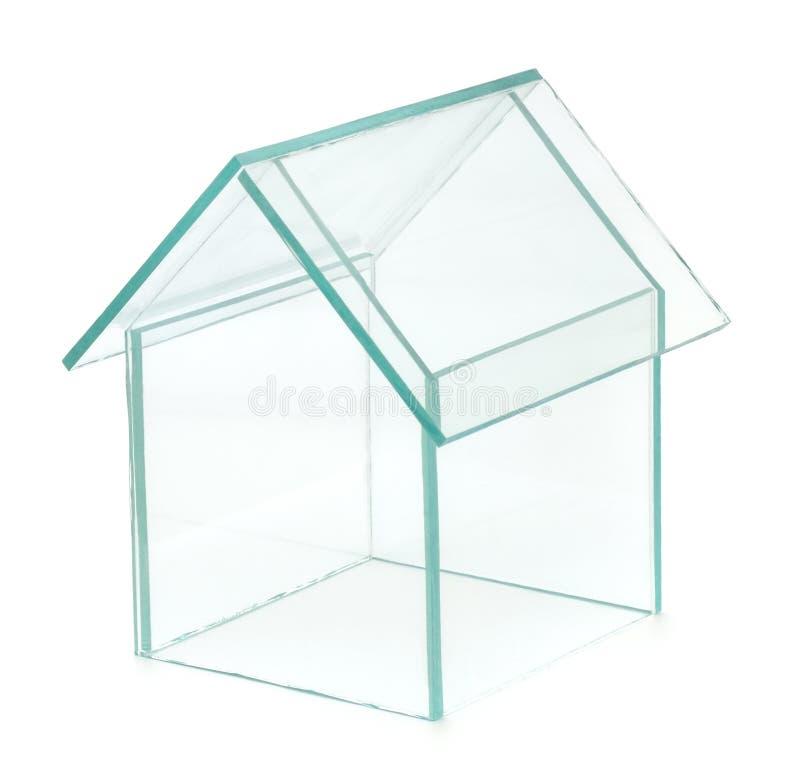 玻璃议院 免版税库存照片