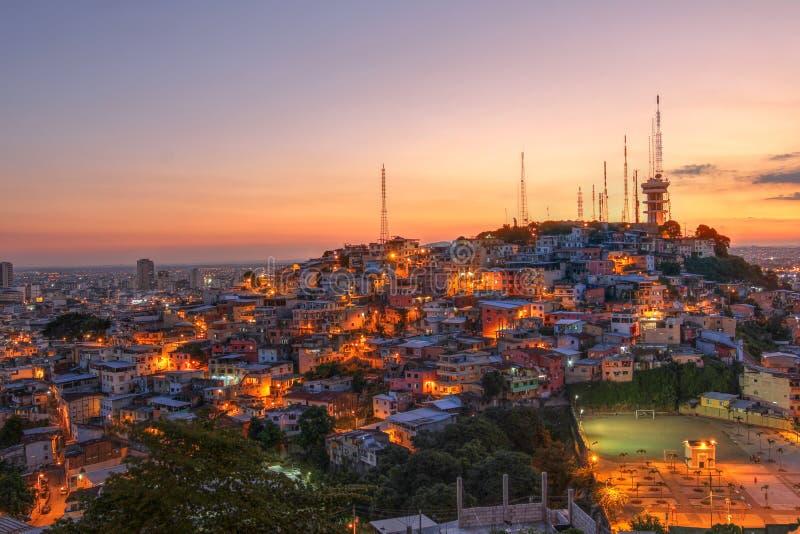瓜亚基尔,厄瓜多尔 免版税库存照片