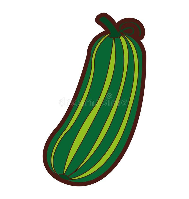 黄瓜新鲜蔬菜象 皇族释放例证