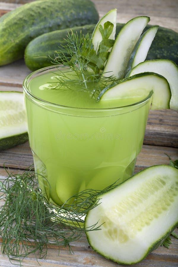 黄瓜汁 图库摄影