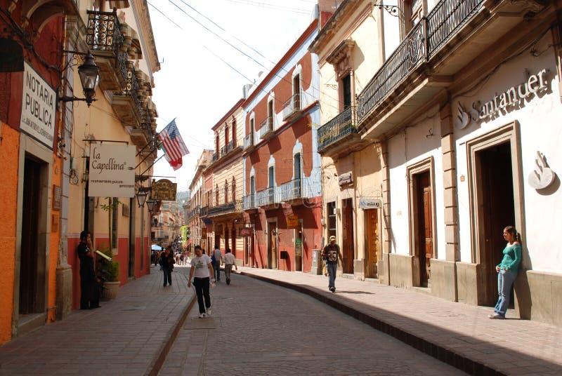 瓜纳华托州墨西哥旅游业 库存照片