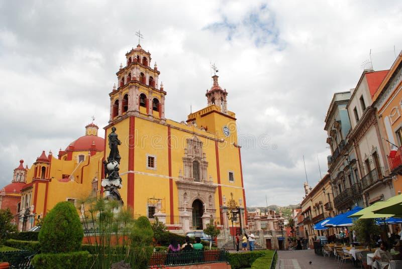 瓜纳华托州墨西哥旅游业 免版税库存照片