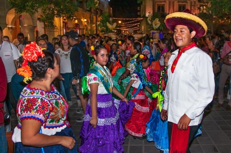 瓜达卢佩河Dia de la Virgen de瓜达卢佩河的维尔京的天 免版税库存图片