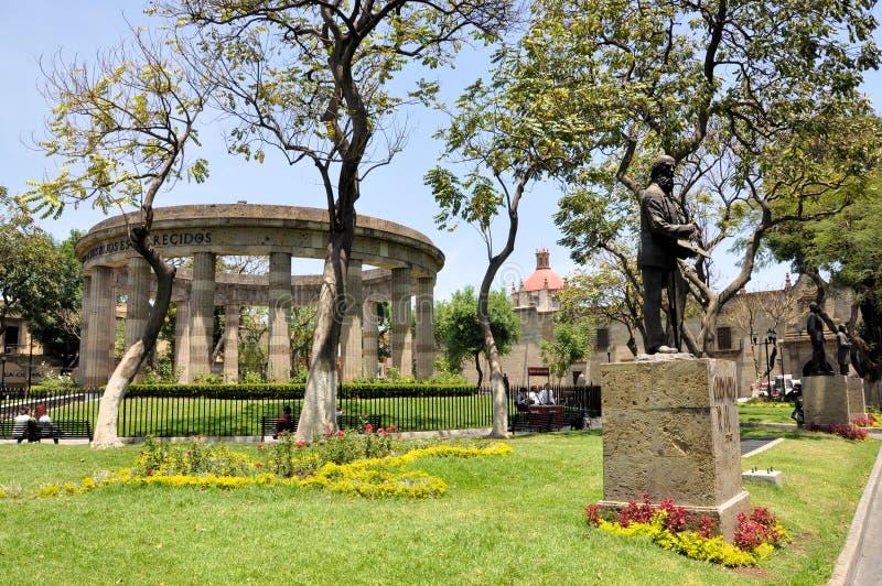 瓜达拉哈拉圆形建筑的墨西哥 免版税图库摄影