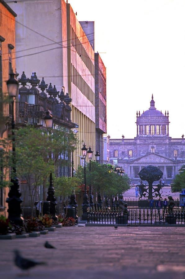 瓜达拉哈拉墨西哥广场tapatia 免版税库存图片