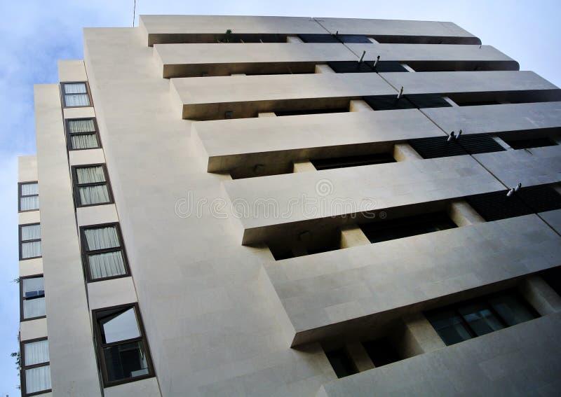瓦伦西亚语现代大厦 免版税库存图片