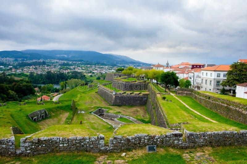 瓦伦西亚, Portuga广场堡垒  库存照片