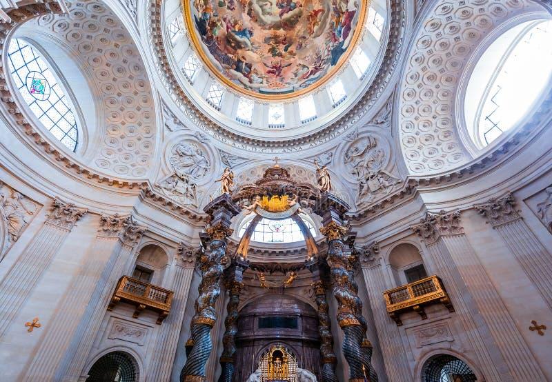 瓦勒德格拉斯的教会,巴黎,法国 图库摄影