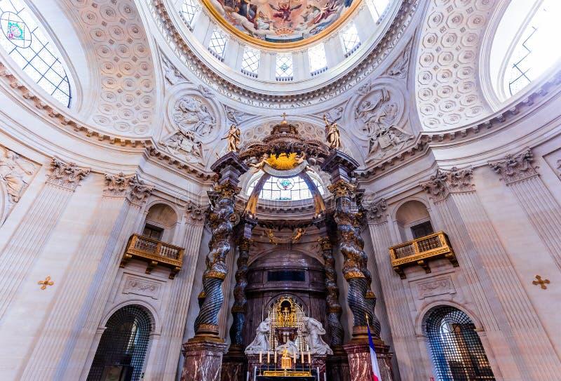 瓦勒德格拉斯的教会,巴黎,法国 免版税库存图片