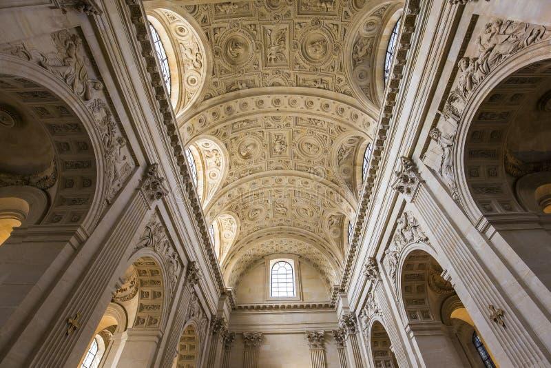 瓦勒德格拉斯的教会,巴黎,法国 库存照片