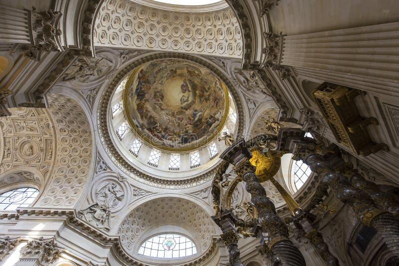 瓦勒德格拉斯的教会,巴黎,法国 免版税图库摄影