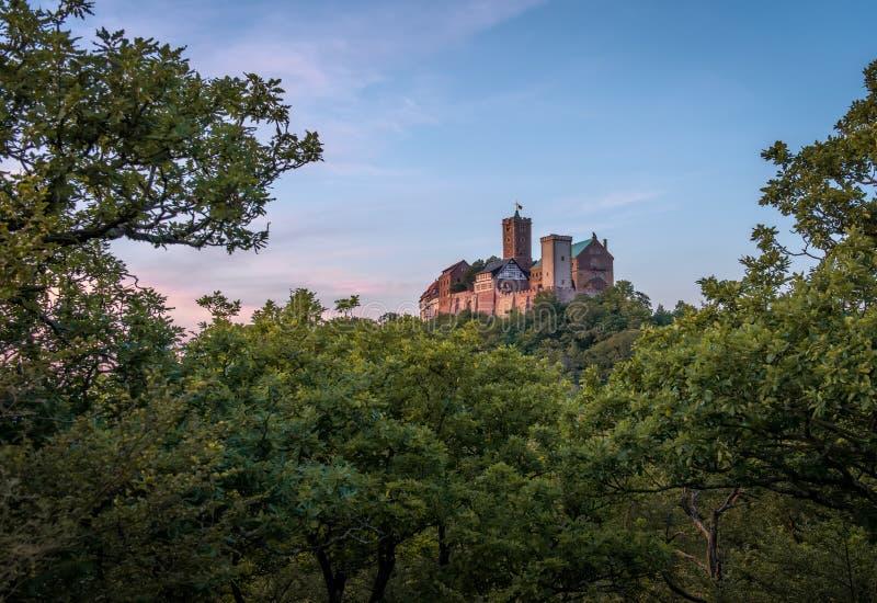 瓦尔特堡城堡 免版税图库摄影