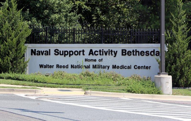 瓦尔特Reed国家军事医疗中心 图库摄影