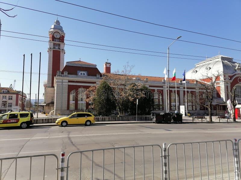瓦尔纳保加利亚火车站 免版税库存照片