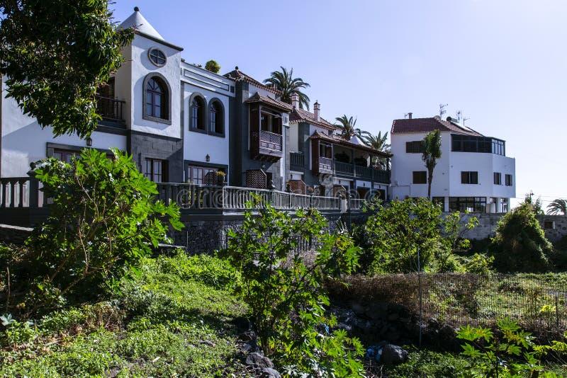瓦尔Gran Rey,戈梅拉岛,西班牙的加那利群岛 免版税图库摄影