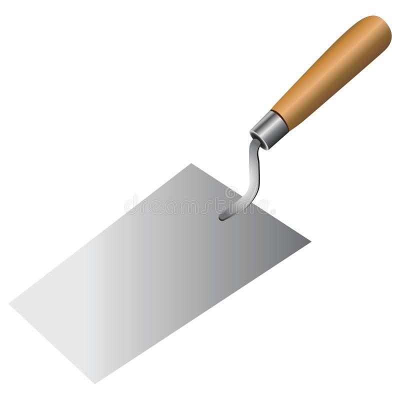瓦工工具 库存例证