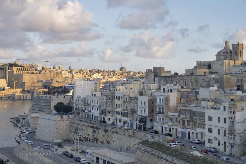 瓦莱塔-马耳他的首都 免版税库存照片