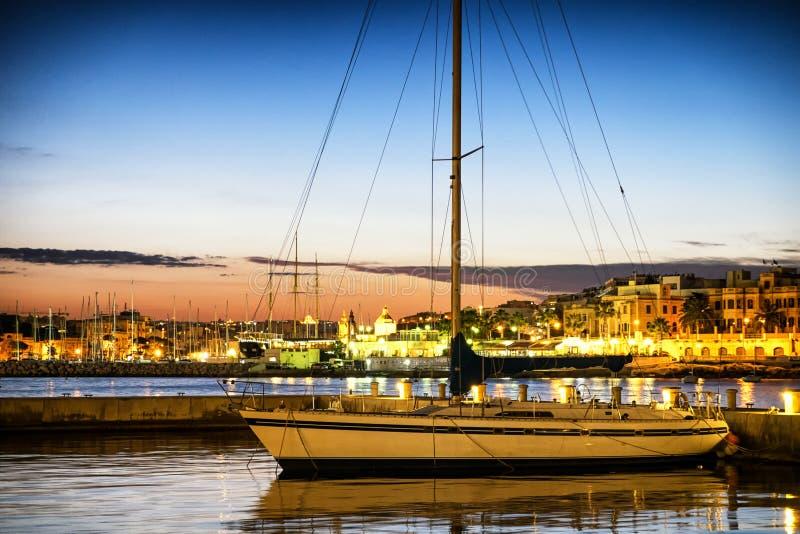 瓦莱塔-马耳他 免版税库存图片