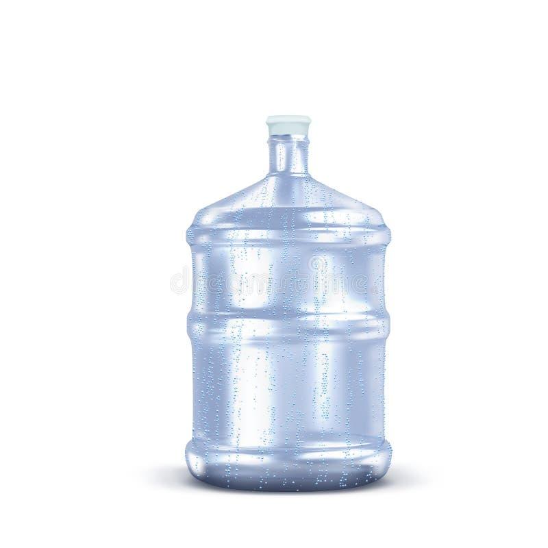 瓶丢弃塑料水 回收概念 万圣节隔离南瓜白色 库存照片