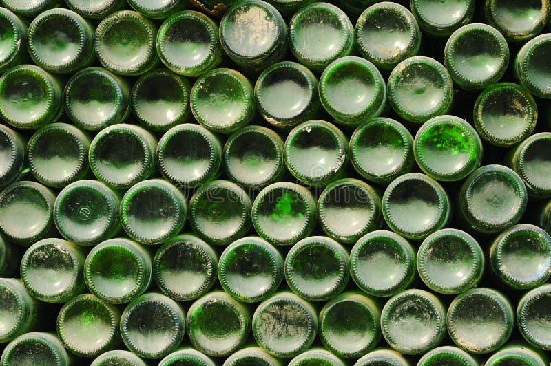 瓶中心回收 库存照片