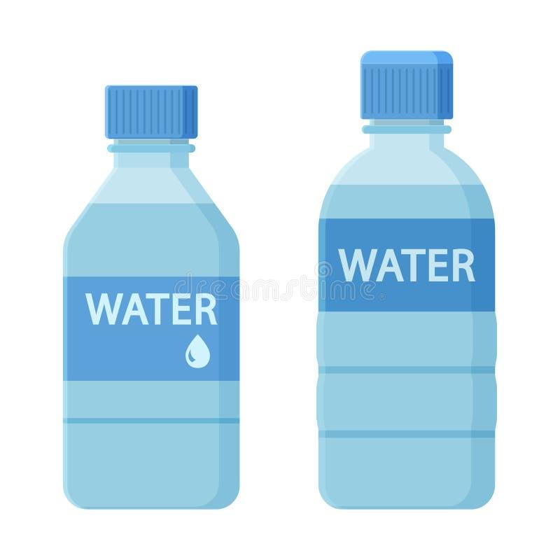 瓶二水 向量 皇族释放例证