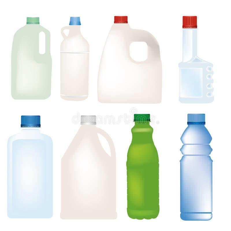 瓶传染媒介 向量例证