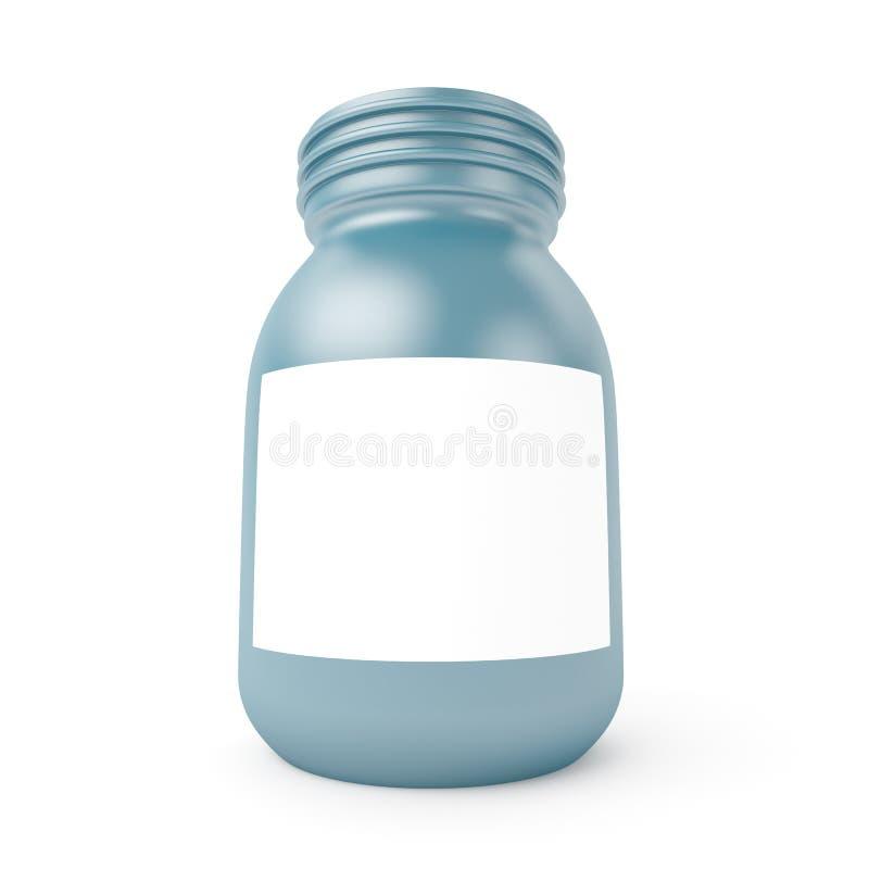 瓶塑料 皇族释放例证
