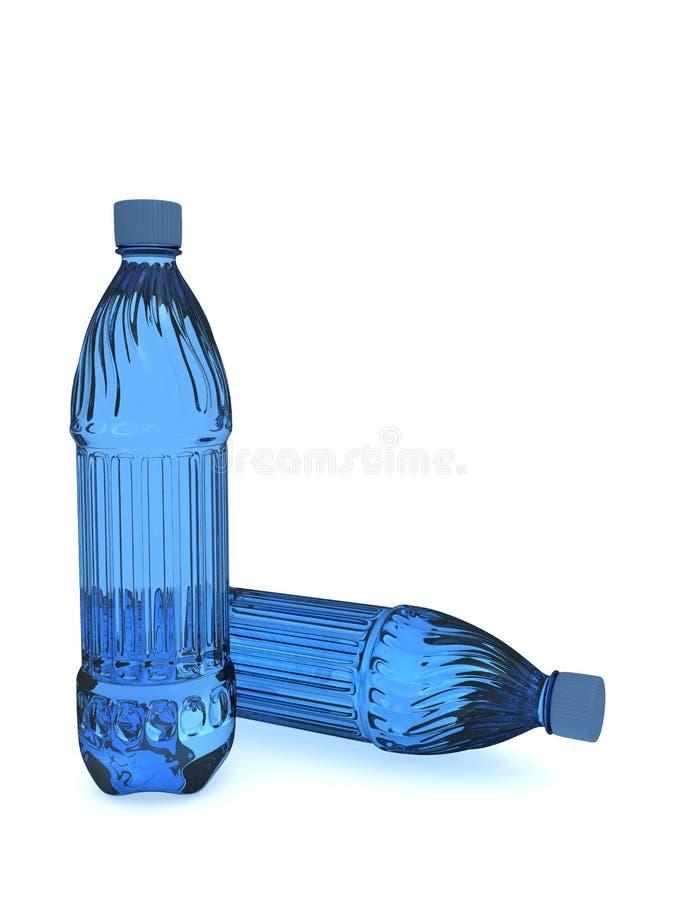 瓶塑料 免版税库存图片