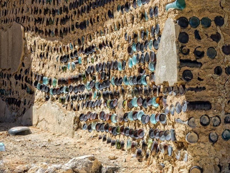 瓶墙壁 免版税库存图片