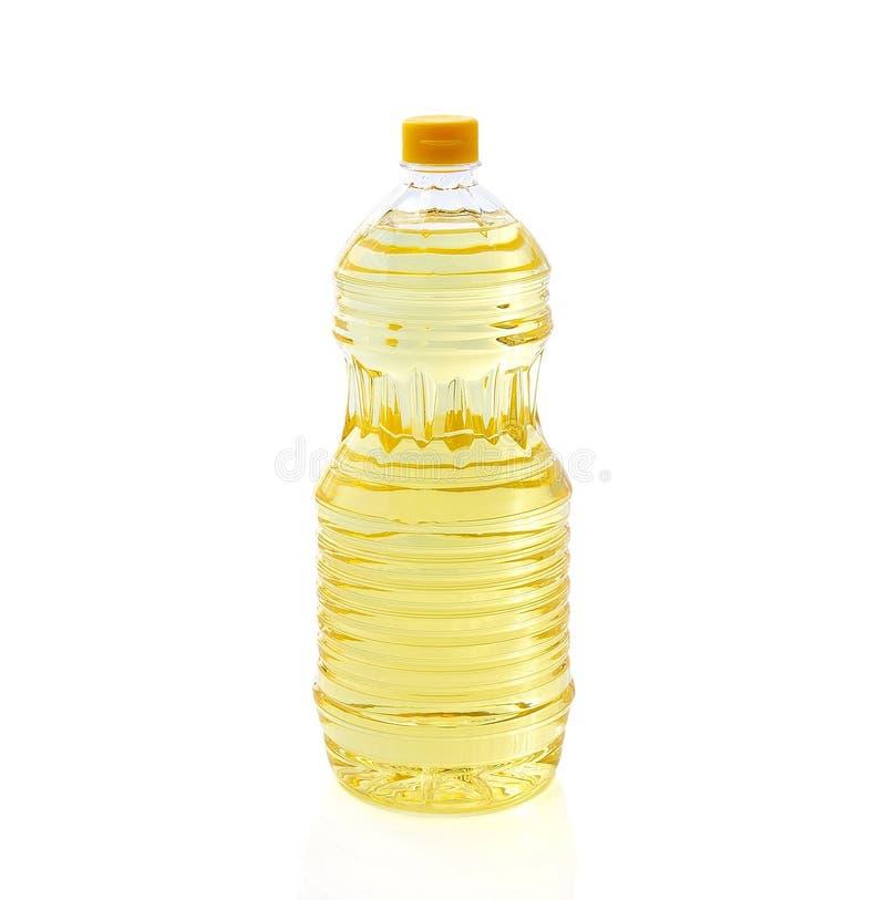 瓶大油的塑料 免版税库存照片