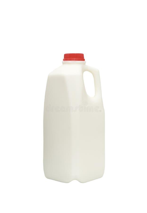 瓶新鲜的牛奶 库存图片