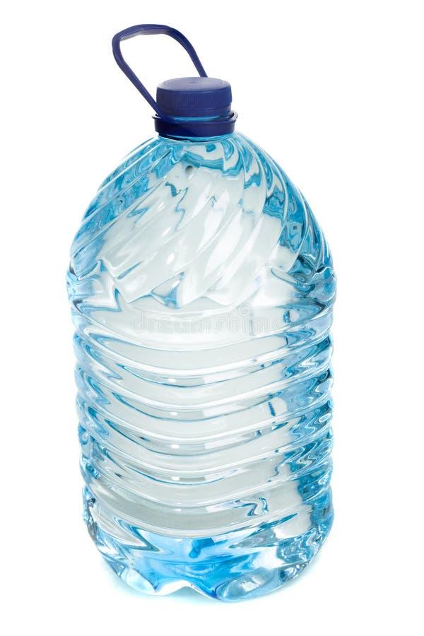 瓶查出的水白色 图库摄影