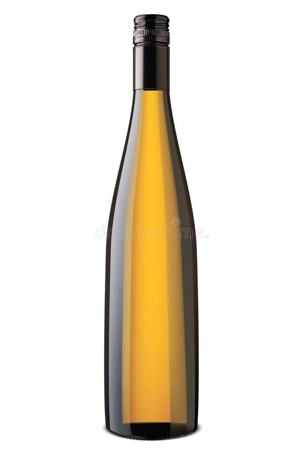 瓶查出的酒 向量 皇族释放例证