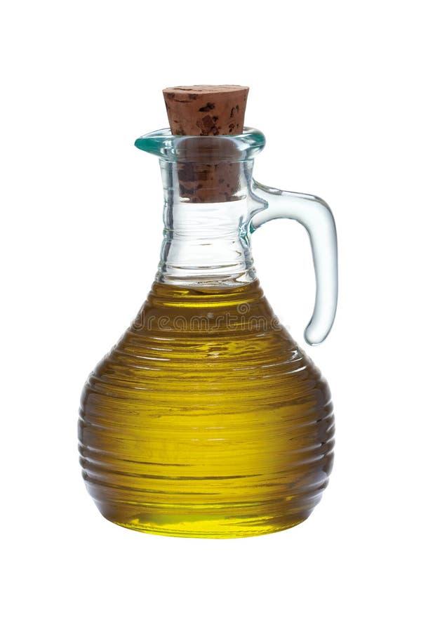 瓶橄榄色贞女 库存照片