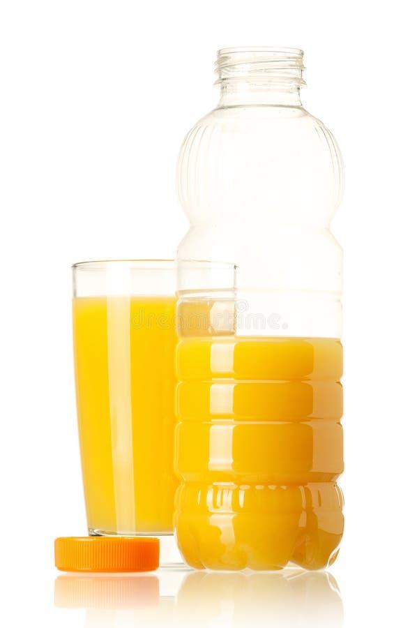 瓶汁液 免版税库存照片
