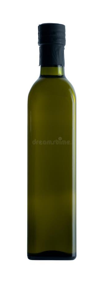 瓶深绿油橄榄 图库摄影