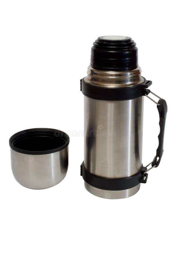 瓶热水瓶 免版税库存图片