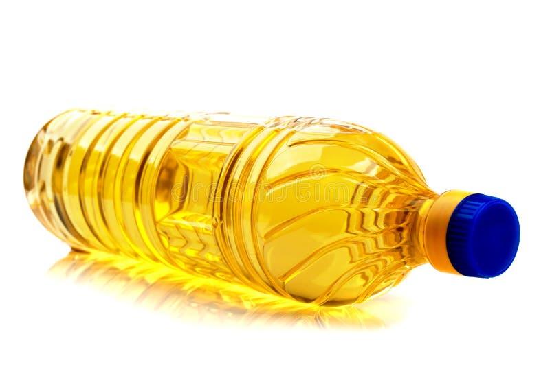 瓶烹调用油 库存图片