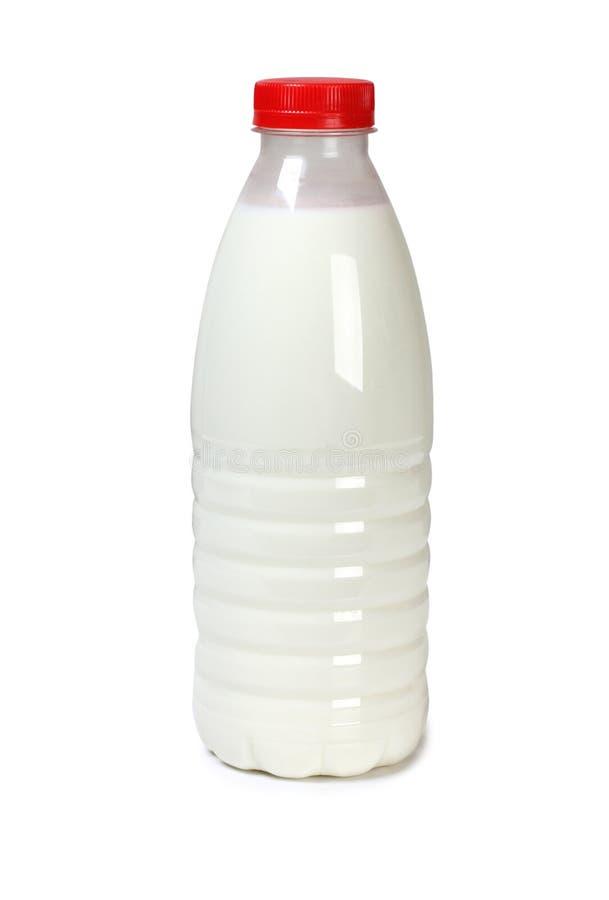 瓶牛奶五 图库摄影
