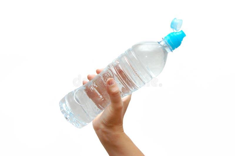 瓶现有量水 免版税库存图片