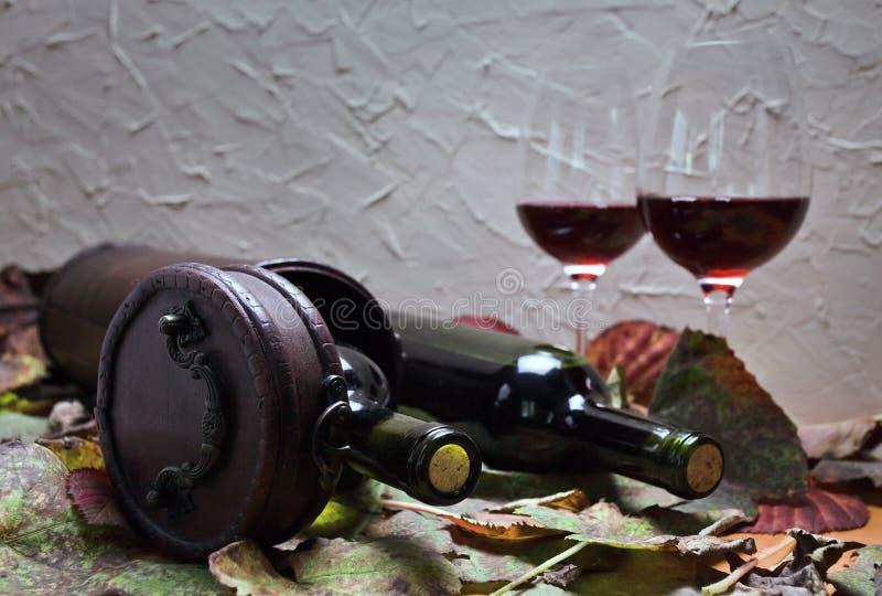 瓶用酒 免版税图库摄影