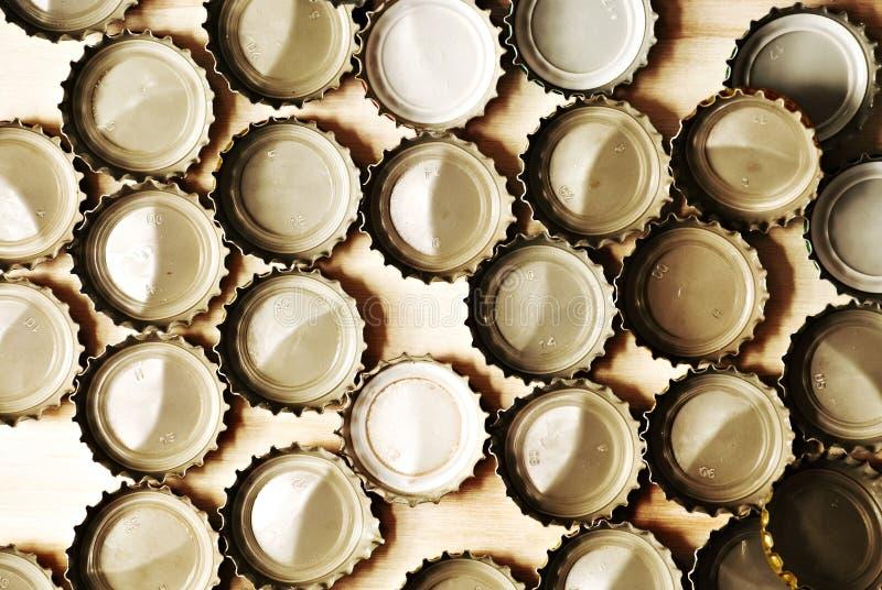 瓶盖 免版税库存照片
