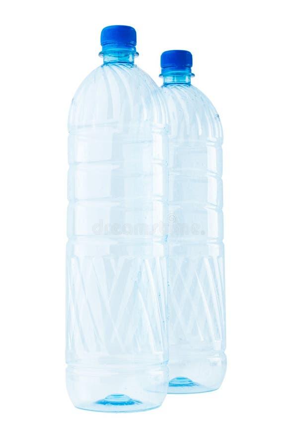 瓶空的塑料 免版税库存图片